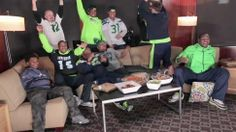 Soooo funny I died laughing. These Seahawks Fans Tried To Watch Last Week's Game In Silence, For $5k