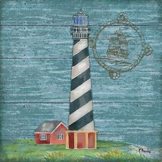 Boothbay Lighthouse IV Art Print
