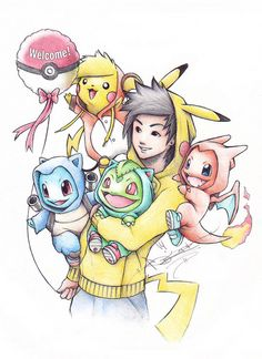 Hey guys! So out of the blue, my illustrations of Pokemon wearing onsies of their final evolved stages, spread like wildfire on various different blog sites. So Ive decided Im going to keep the series going by starting up this Tumblr account, to ultimately have a Pokemon Gallery (Prints Available). Enjoy! For all other artworks you can visit me at my Deviant Art which is located in the Pokeball to the left.