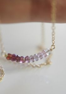 How To: Delicate Necklace from cupcakesandcashmere.com