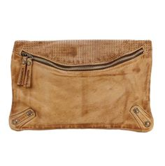 Kompanero Ashley Envelope Clutch - Tobacco fd57e2cd50f6c
