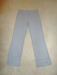 Other sizes/colors available Danskin Now Womens Fitted Bootcut Pant Grey Gray Size Small #DanskinNow #BootCut