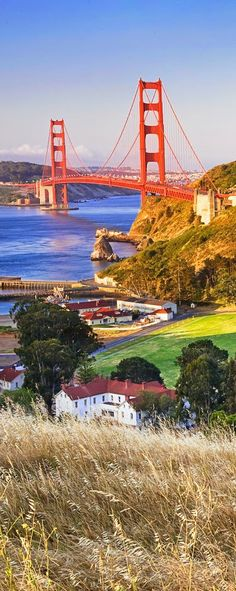 The San Francisco Bay And The Golden Gate Bridge California
