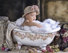 I love the little tub