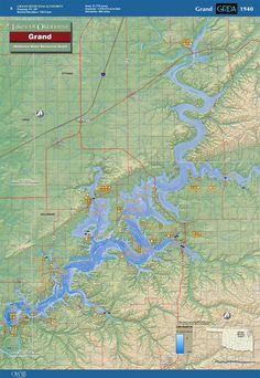 Grand Lake Ok Map : grand, Grand, Scenery, Ideas, Lake,