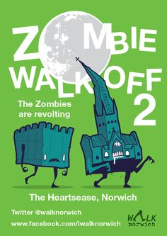 Zombie Walk Off 2 - June 28th at 11am  More details on the Facebook event page: https://www.facebook.com/events/1440272369563934/