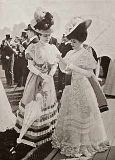 1906, Edwardian Fashion