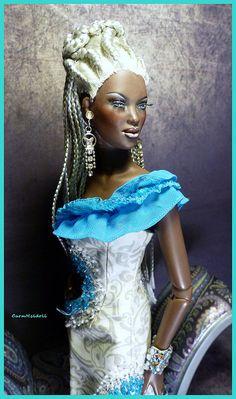 Flickr African American Beauty, African American Dolls, African Beauty, Beautiful Barbie Dolls, Pretty Dolls, Original Barbie Doll, Diva Dolls, Living Dolls, Black Barbie