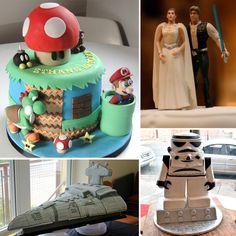 Geeky Cakes For Wedding Day Inspiration  - www.geeksugar.com