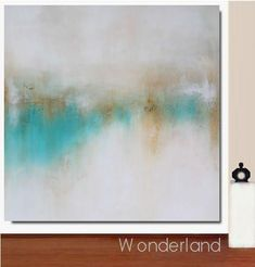 Modern large art painting WONDERLAND by KR MOEHR facetimeart.com ArtlovebyKaren on ETSY