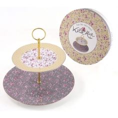 Lovely shabby chic cake stand from the Ditsy Floral Katie Alice collection  2 Tier Cake Stand 614189fc015