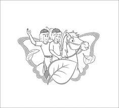 bibi und tina bilder zeichentrick - ausmalbilder vorlagen für kinder malvorlagen zum ausdrucken
