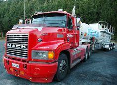 Mack truck 1998, upper Atiamuri, New Zealand. 2008.