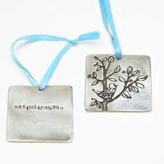 custom ornaments... great client gifts, employee gifts or family gifts.