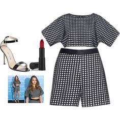 Untitled #2973 by adi-pollak on Polyvore featuring Manolo Blahnik, GAB and GetTheLook