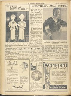 Issue: 5 Aug 1933 - The Australian Women's Week...