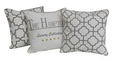 Hamptons pillows -trio
