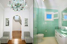 Art deco house Dover Heights - doorway
