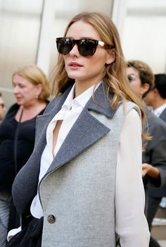 The Olivia Palermo Lookbook : Olivia Palermo at Paris Fashion Week: Look 10