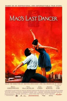 Mao's Last Dancer , starring Chi Cao, Bruce Greenwood, Kyle MacLachlan, Penne Hackforth-Jones. A drama based on the autobiography by Li Cunxin. At the age of Li was plucked from a poor Chinese. Dance Movies, Hd Movies, Movies Online, Movies And Tv Shows, Movie Tv, 2017 Movies, Joan Chen, Bruce Greenwood, Driving Miss Daisy