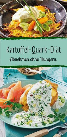Die Kartoffel-Quark-Diät: Abnehmen ohne Heißhunger-Attacken The Potato Quark Diet: Losing Weight Without Cravings – weight Food cravings Detox Recipes, Tea Recipes, Smoothie Recipes, Healthy Recipes, Detox Meals, Detox Foods, No Carb Diets, Food Inspiration, Healthy Life