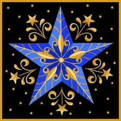 'Blue Star' By Stephanie Stouffer