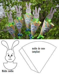 Paasei-cornetto voor kids