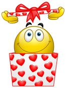 From Google: Happy Valentine's Day Emoticon for Blog/ Website