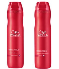 one of my favorite shampoo n conditioners! wella color care for coarse hair