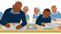 Be inspired... very inspired by the Google Doodle that honors the oldest pupil in Kenya - Kimani Maruge.  Read the short article.
