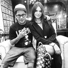 This is Jon Boy. He's tattooed Kendall Jenner… | This Tattoo Artist Will Make Literally Every Person Want To Get Inked