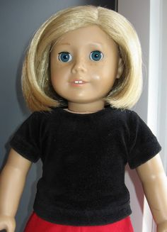 A Doll for all Seasons: Holiday Top