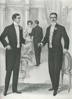 Фрак мужской. Америка, 1904 год | История костюма