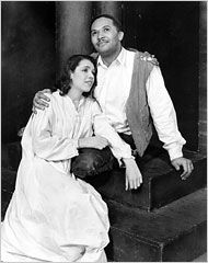 Anne Brown and Todd Duncan Broadway's original Porgy & Bess