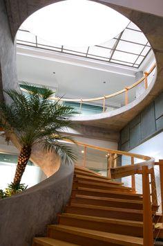Office Building Stairway in Montes de Oca, San Jose, Costa Rica