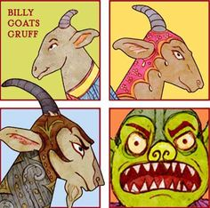 free printable from the Toymaker - Billygoats Gruff