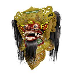#Bali Barong mask