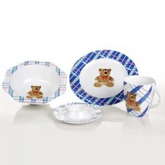 Childs fine china porcelain set bear products china and bears childs fine china porcelain set teddy bear negle Image collections