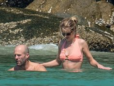 Hot Couple Alert! Rosie Huntington-Whiteley and Jason Statham Show Off Their Beach Bodies in Thailand| Couples, Jason Statham, Rosie Huntington-Whiteley