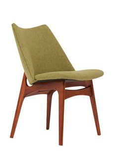 Adrian Pearsall; Walnut Side Chair for Craft Associates, 1950s.