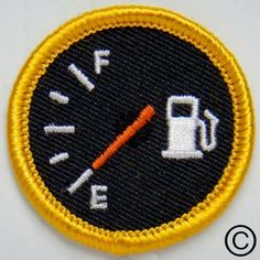 Fume Coaster Merit Badge. Patch love. Are you running on E?