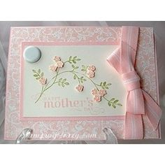 NEWEST SCRAP  BOOKING MOTHERS DAY CARDS | Mother's Day card} card making | stampin up | scrapbooking - Polyvore