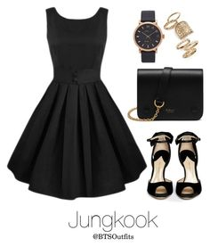 """College Graduation Ceremony with Jungkook"" by btsoutfits ❤ liked on Polyvore featuring Topshop, Paul Andrew, Marc Jacobs and Mulberry"