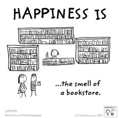 The Smell of a Bookstore
