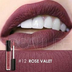 Liquid Lipstick Waterproof Long Lasting Lip Gloss - 24 Hot Colors