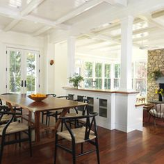 traditional dining room by Union Studio, Architecture & Community Design
