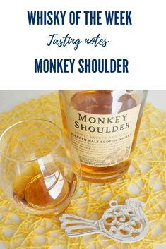 Tasting notes for the Monkey Shoulder Blended malt Malt Whisky, Scotch Whisky, Whisky Tasting, Monkey, Notes, Drinks, Bottle, Shoulder, Drinking