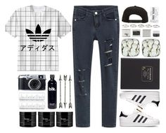 """""""chilly"""" by tmizzle ❤ liked on Polyvore featuring Mode, adidas, Roark, J.Crew, Korres, Henson und philosophy"""