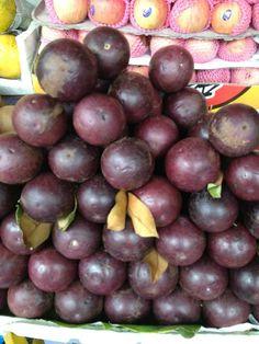 Star Apple or Kaymito. It's fruit season in Cebu. Come visit us?