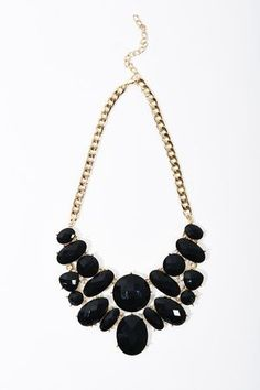 Black statement necklace #ccstyle Charming Charlie Renaissance at Colony Park 601.605.2105 #shoprenaissance